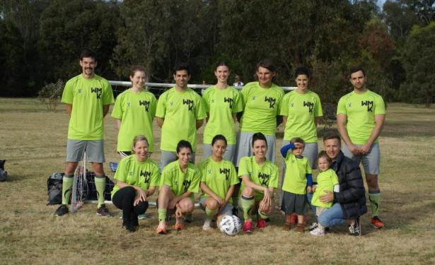 WMK Melbourne goes all-in for the ArchiSoccer League