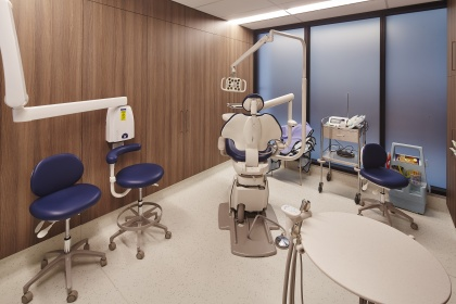 Wood Veneer Treatment Room