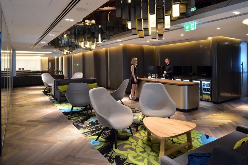 Wmk cbre head office sydney for Interior design work environment