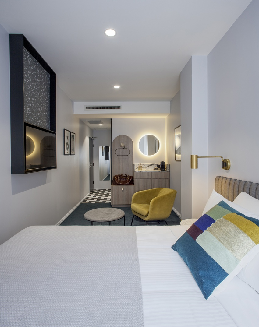 Wmk boutique hotel concept sydney for Concept hotel boutique