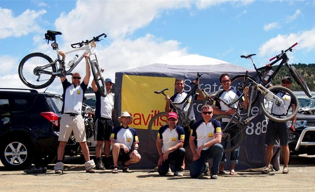 WMK & SAVILLS GO OFF ROAD FOR THE SCOTT 24 HOUR MOUNTAIN BIKING CHAMPIONSHIP!
