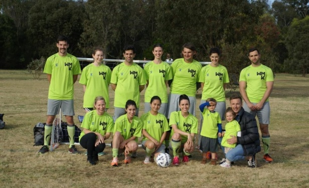 WMK MELBOURNE GOES ALL IN FOR THE ARCHISOCCER LEAGUE
